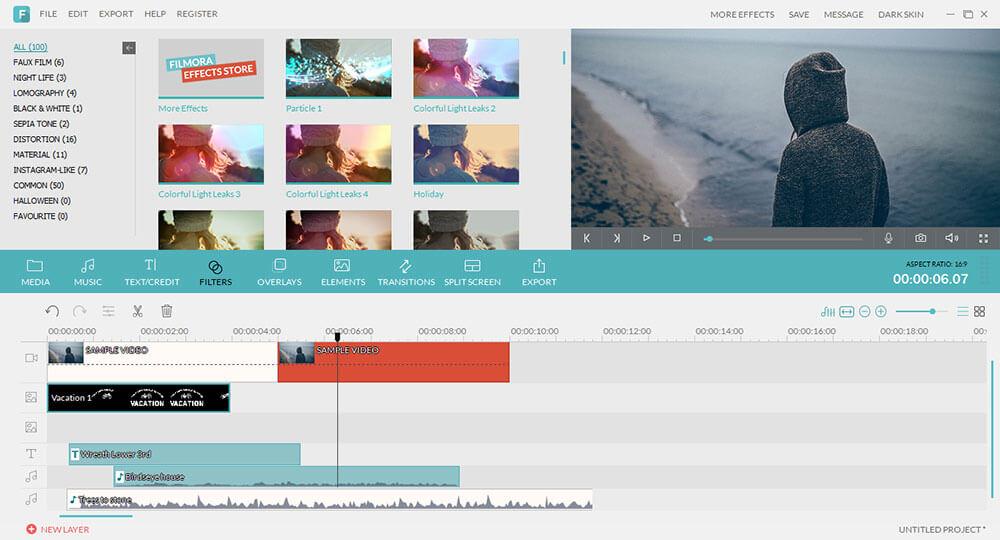 download filmora video editor for windows 7